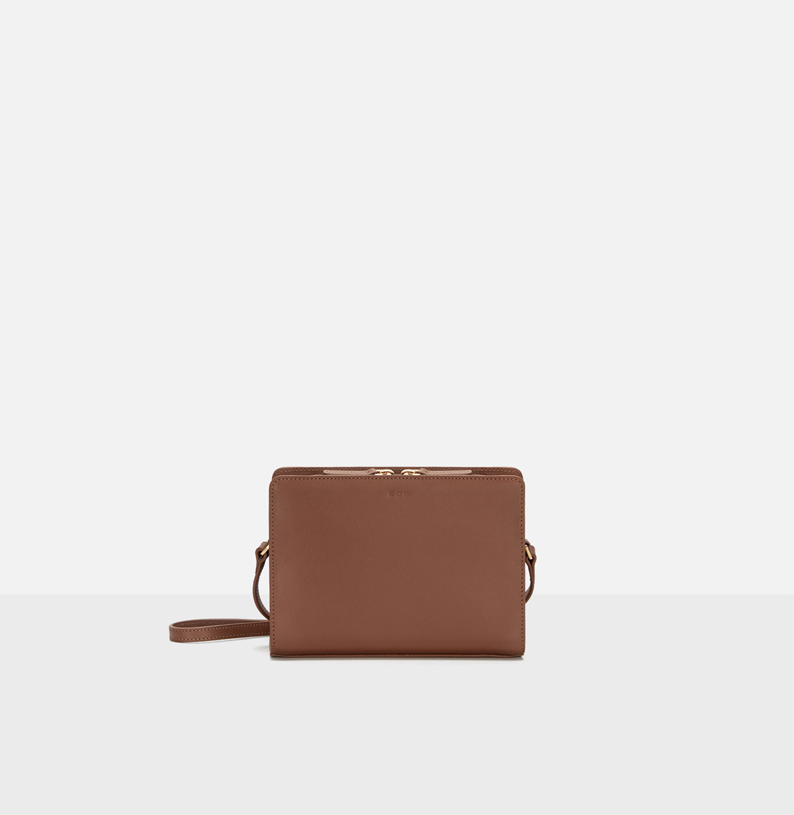 Square small shoulder bag Smoky Tan