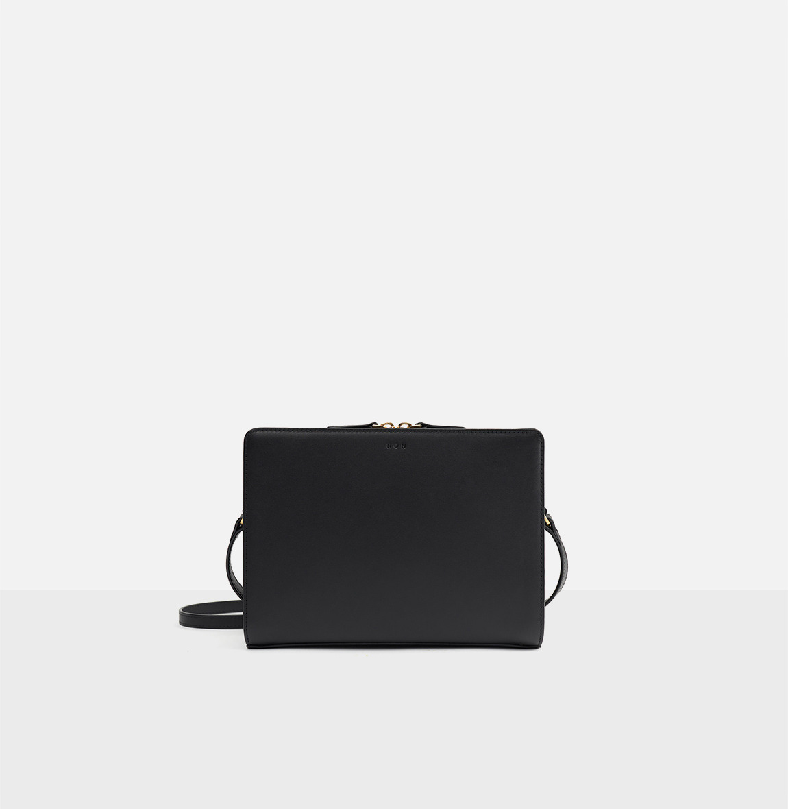 [20SS NEW]Square medium shoulder bag Black