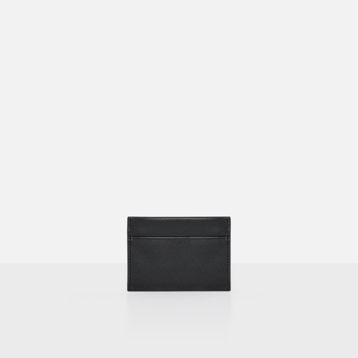 Square card wallet Black