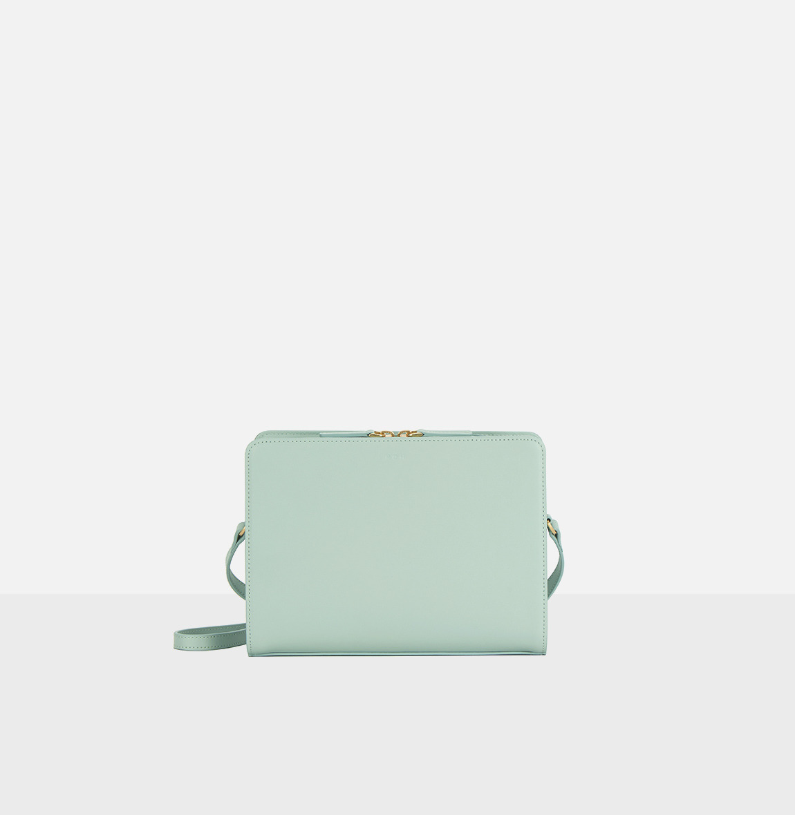 [20SS NEW]Square medium shoulder bag Dusty Mint
