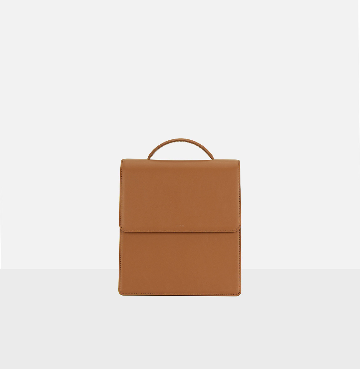 [20SS NEW]Flap medium satchel bag Creamy Tan