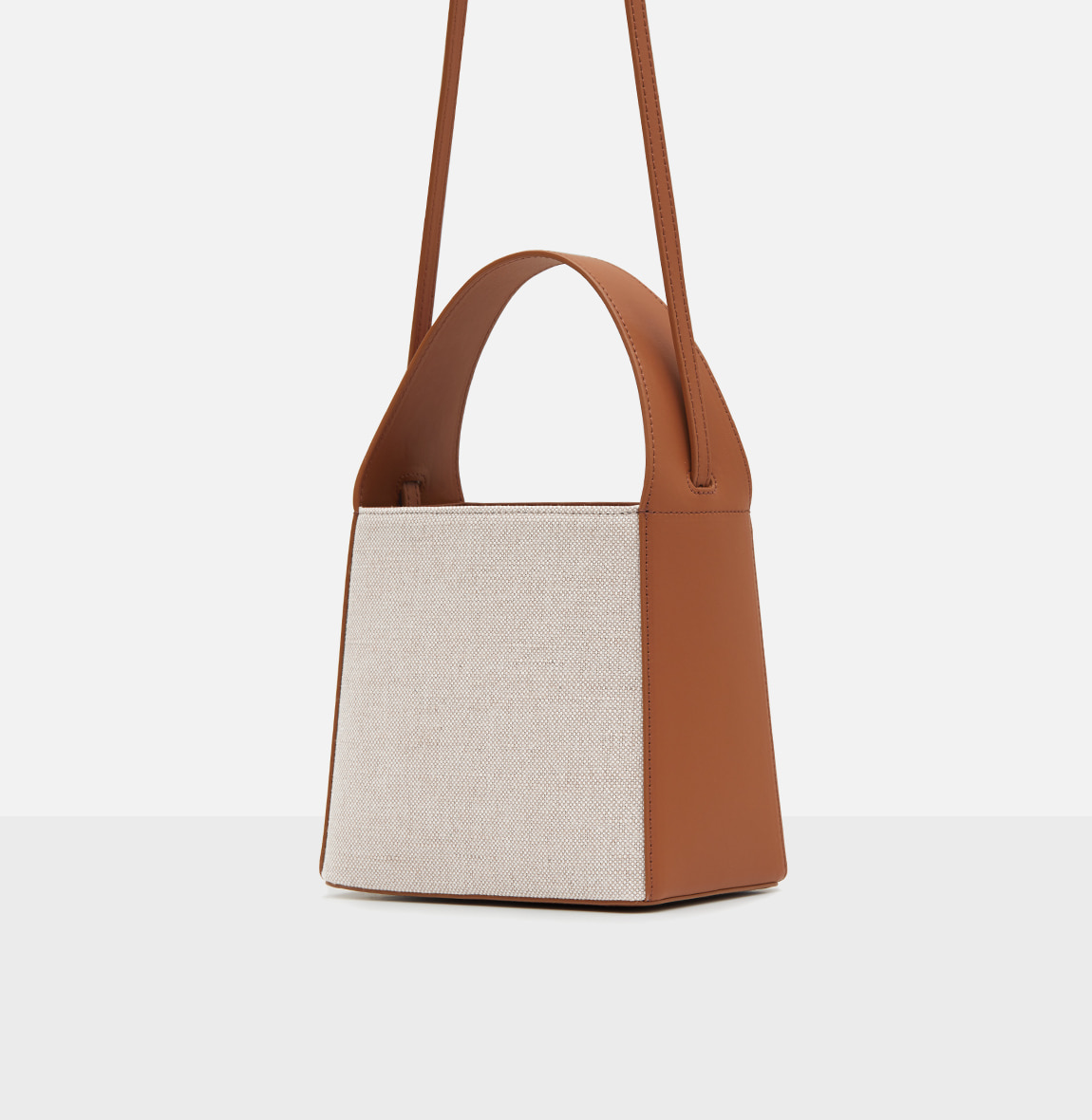 Panier tote bag Creamy tan
